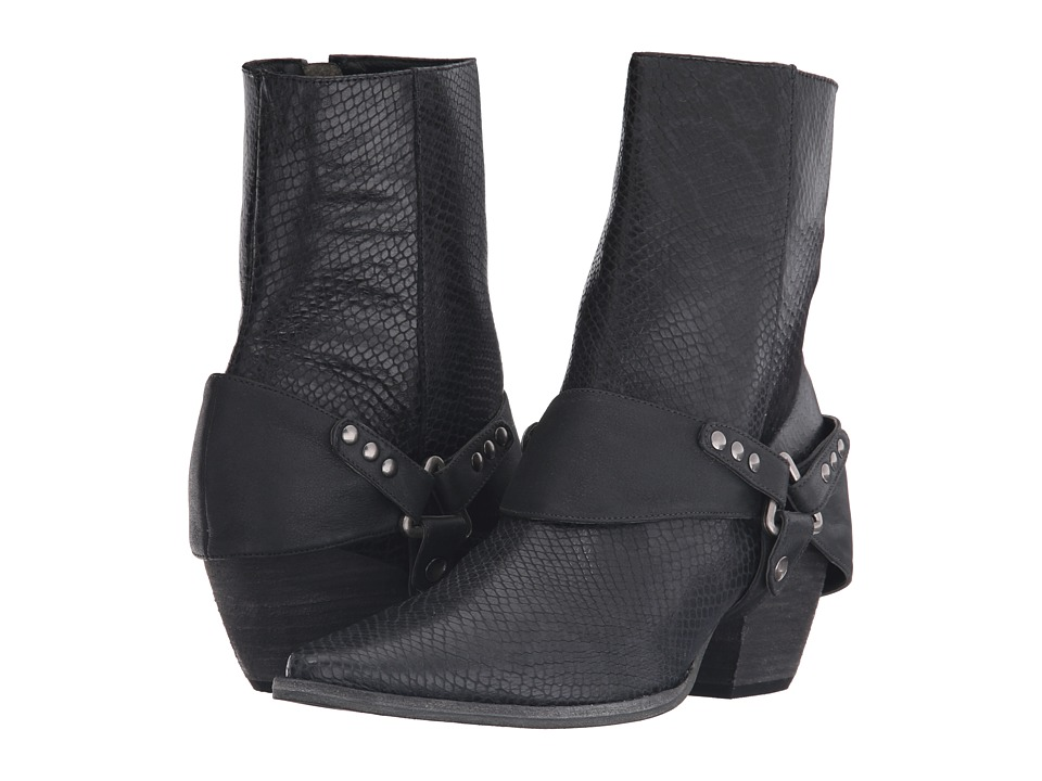 Matisse - Understated Leather I Rattlesnake (Black Leather) Women's Boots