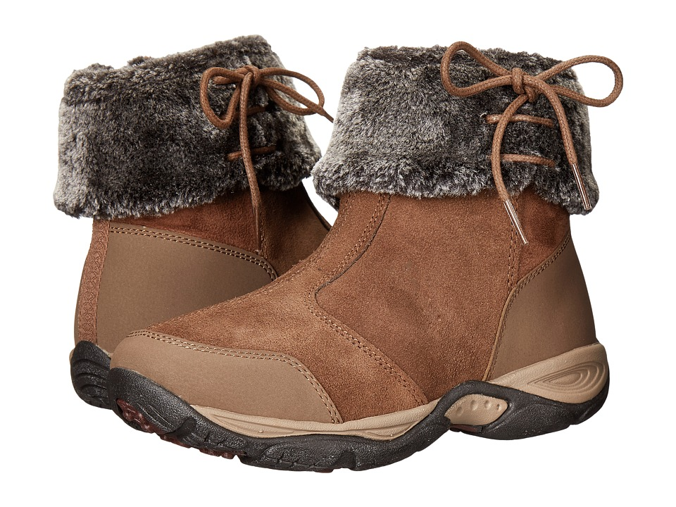 Easy Spirit Elementa (Medium Brown Multi Suede) Women