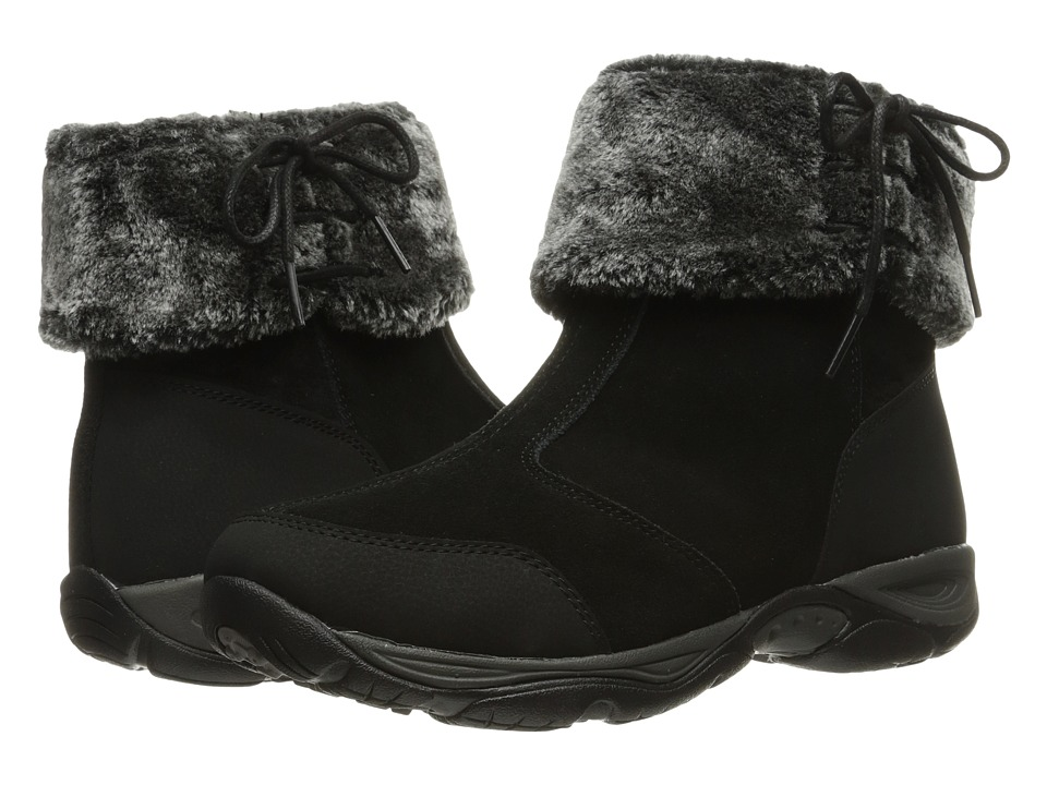 Easy Spirit - Elementa (Black Multi Suede) Women's Shoes