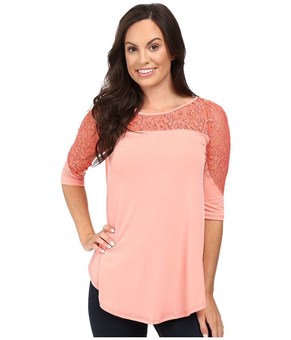 Petrol - Hot Pink Lace (Pink) Women's Clothing