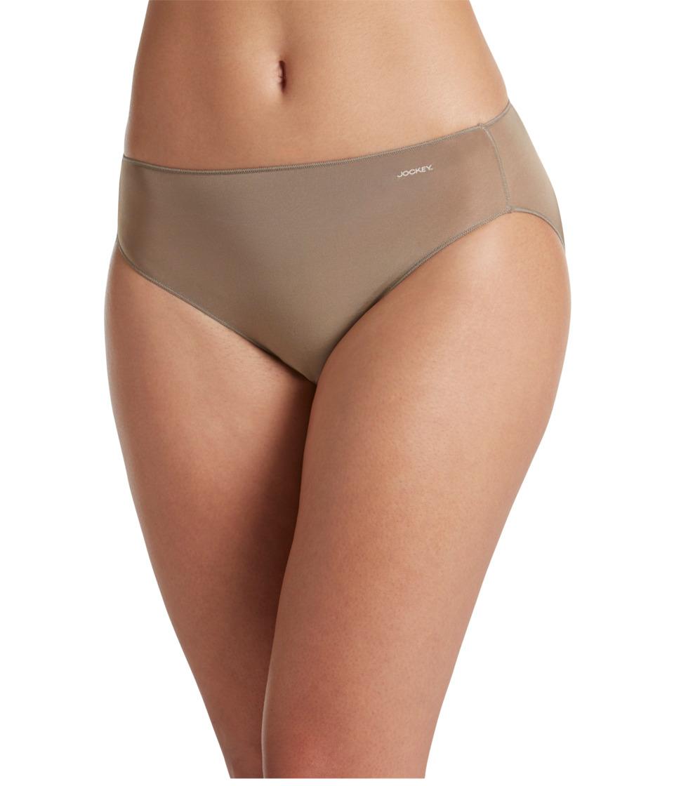 Jockey - No Panty Line Promise Tactel Bikini (Deep Beige) Women's Underwear