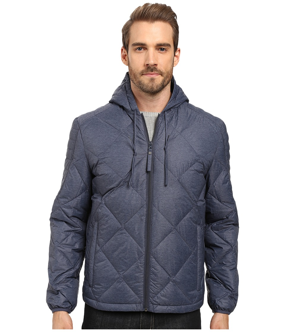 Marc New York by Andrew Marc - Appleton Packable Down Hooded Jacket (Ink) Men's Jacket