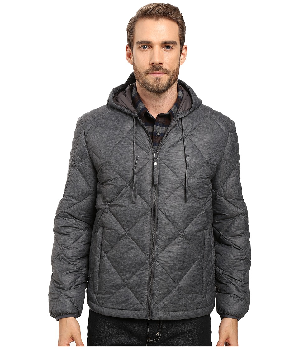 Marc New York by Andrew Marc - Appleton Packable Down Hooded Jacket (Fog) Men's Jacket