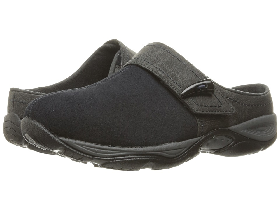 Easy Spirit - Eliana (Navy/Dark Grey Suede) Women's Shoes