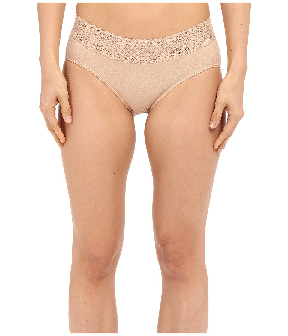 Jockey - Seamfree Lace Waist Hipster (Light) Women's Underwear