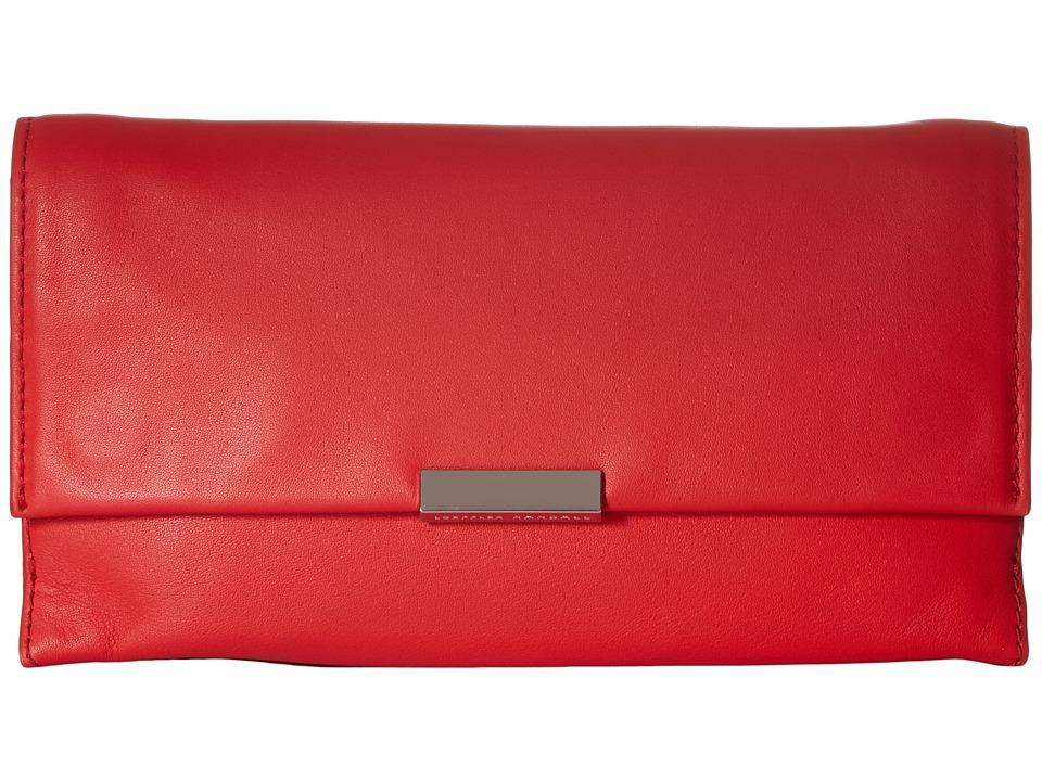 Loeffler Randall - Tab Clutch (Flame) Clutch Handbags