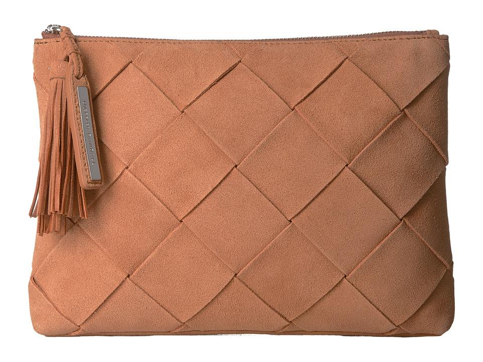 Loeffler Randall - Tassel Pouch (Desert Nude) Clutch Handbags