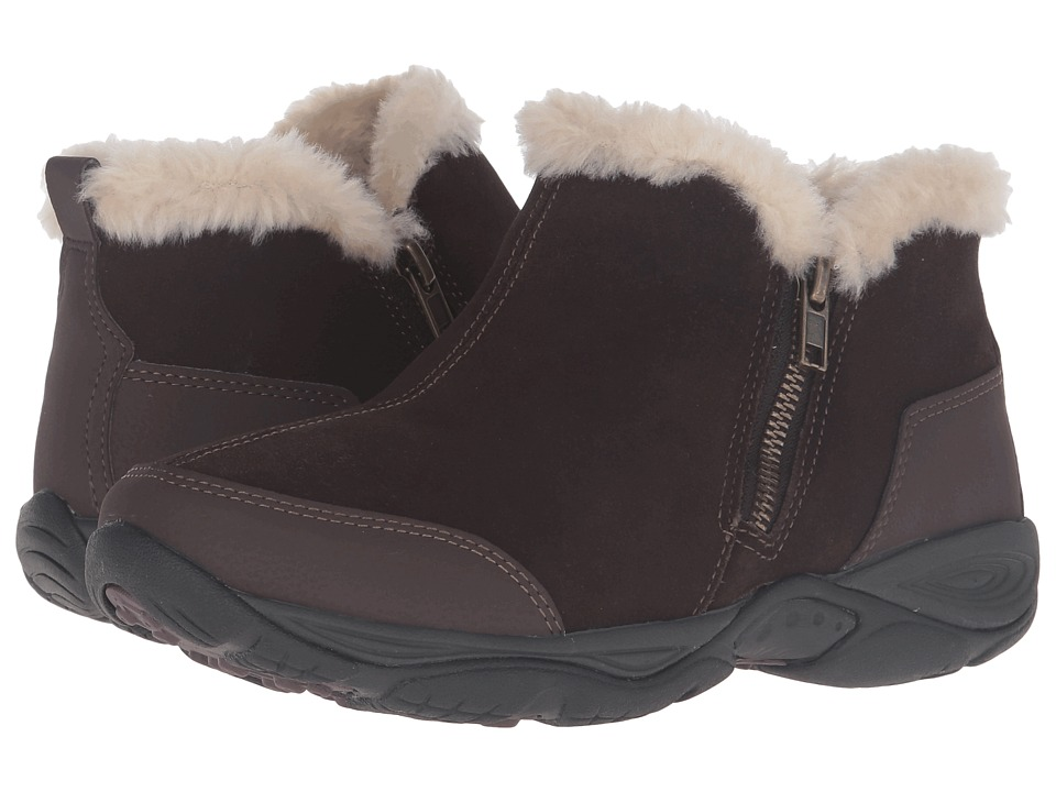 Easy Spirit Excellite (Dark Brown Multi Suede) Women