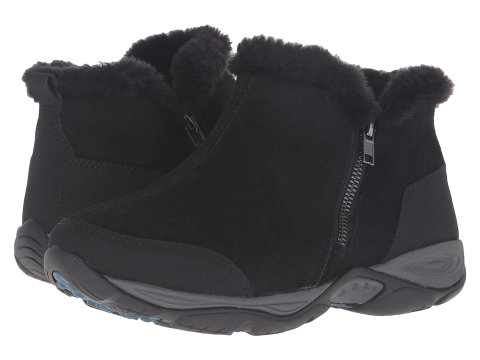 Easy Spirit Excellite (Black Multi Suede) Women