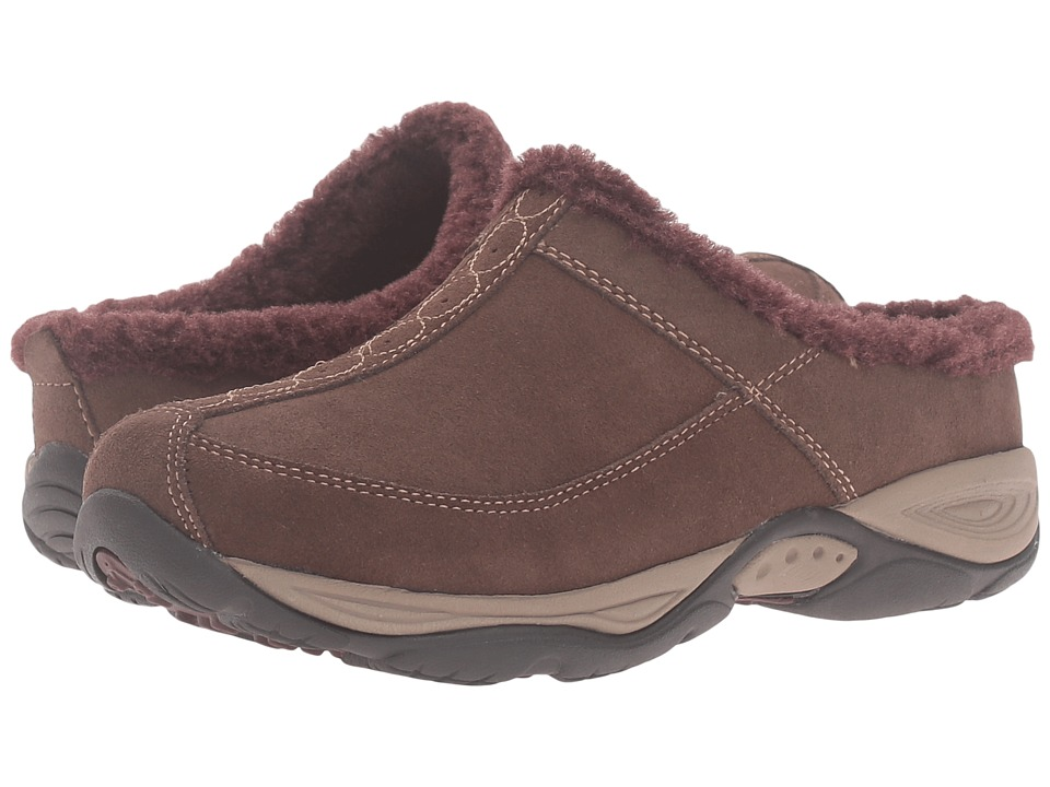 Easy Spirit - Exchange (Medium Brown/Dark Purple Suede) Women's Shoes