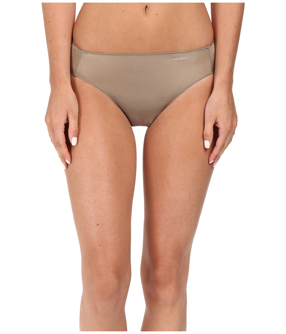 Jockey - No Panty Line Promise Tactel Hi Cut (Deep Beige) Women's Underwear