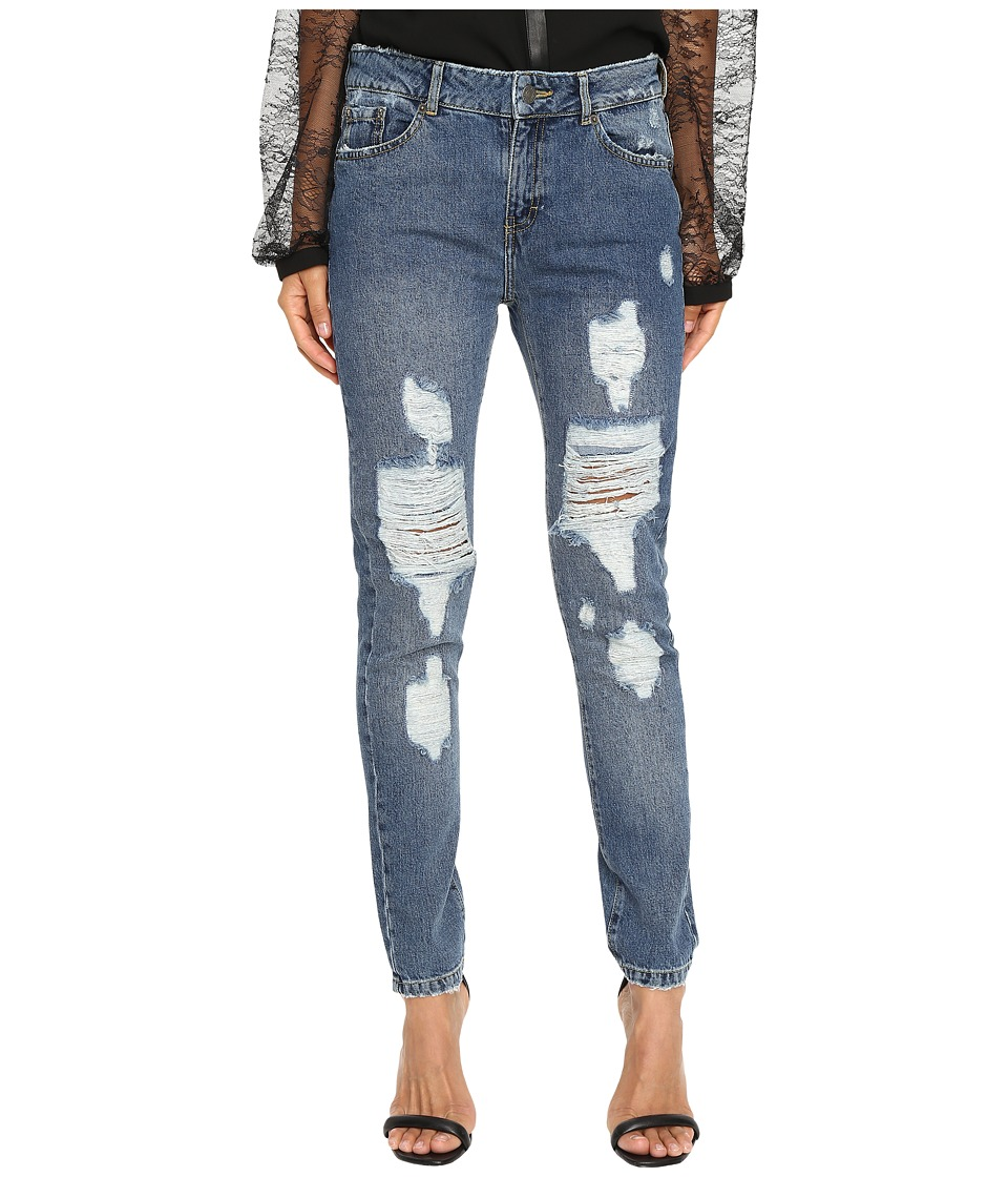 The Kooples - Destroy Jeans (Blue) Women's Jeans