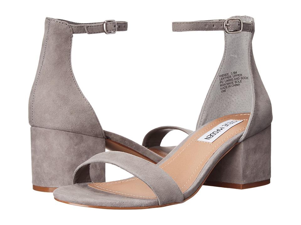 Steve Madden - Irenee (Grey Suede) Women's 1-2 inch heel Shoes