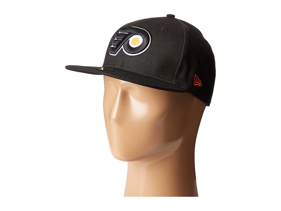 New Era - Philadelphia Flyers (Black) Caps