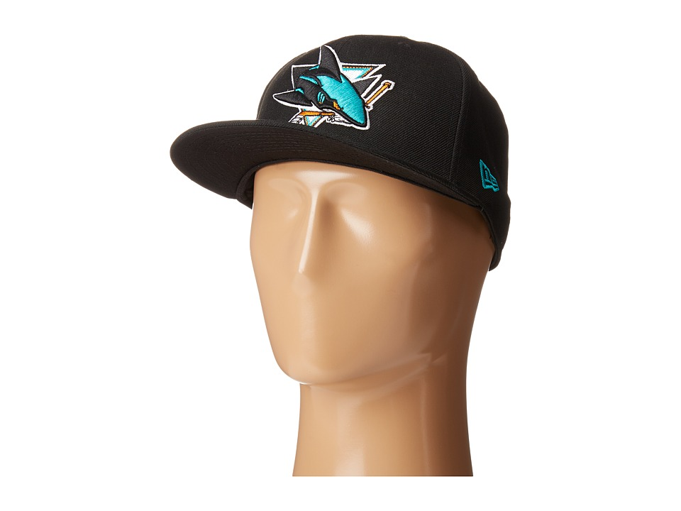 New Era - San Jose Sharks (Black) Caps