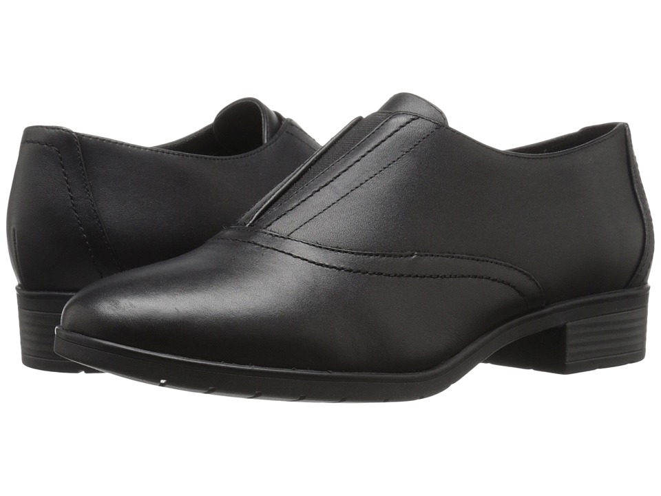 Easy Spirit - Neota (Black/Black Leather) Women's Shoes