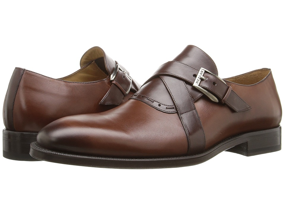 Mezlan Badia (Cognac/Brown) Men