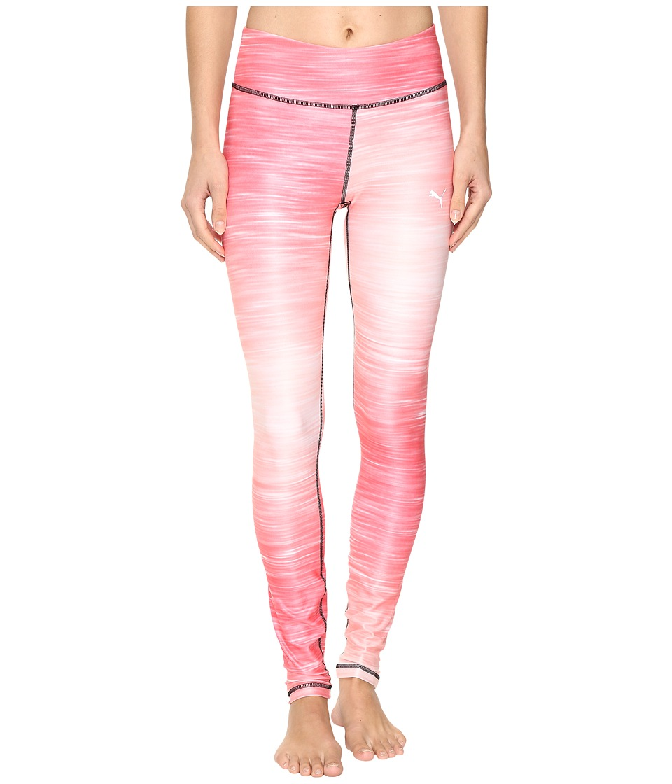 PUMA - All Eyes On Me Tights (Sunkist Coral/Veiled Rose) Women's Clothing