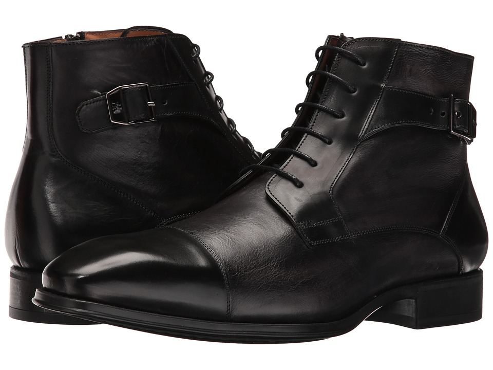 Mezlan - Viale (Black) Men's Lace-up Boots