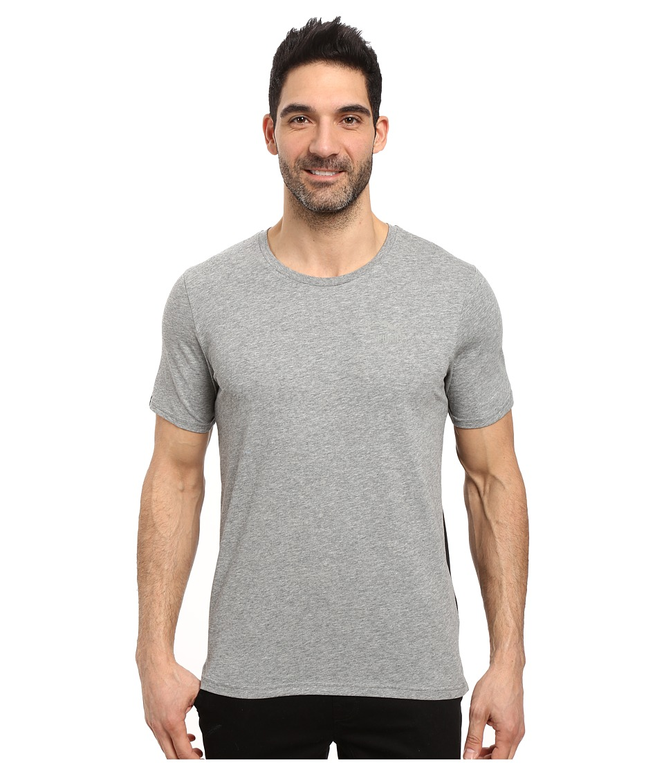 PUMA - Evo Core Tee (Medium Gray Heather) Men's T Shirt