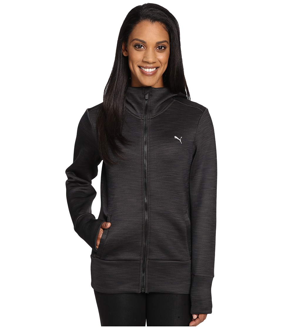 PUMA - Holiday Future Jacket (Dark Gray Heather) Women's Coat