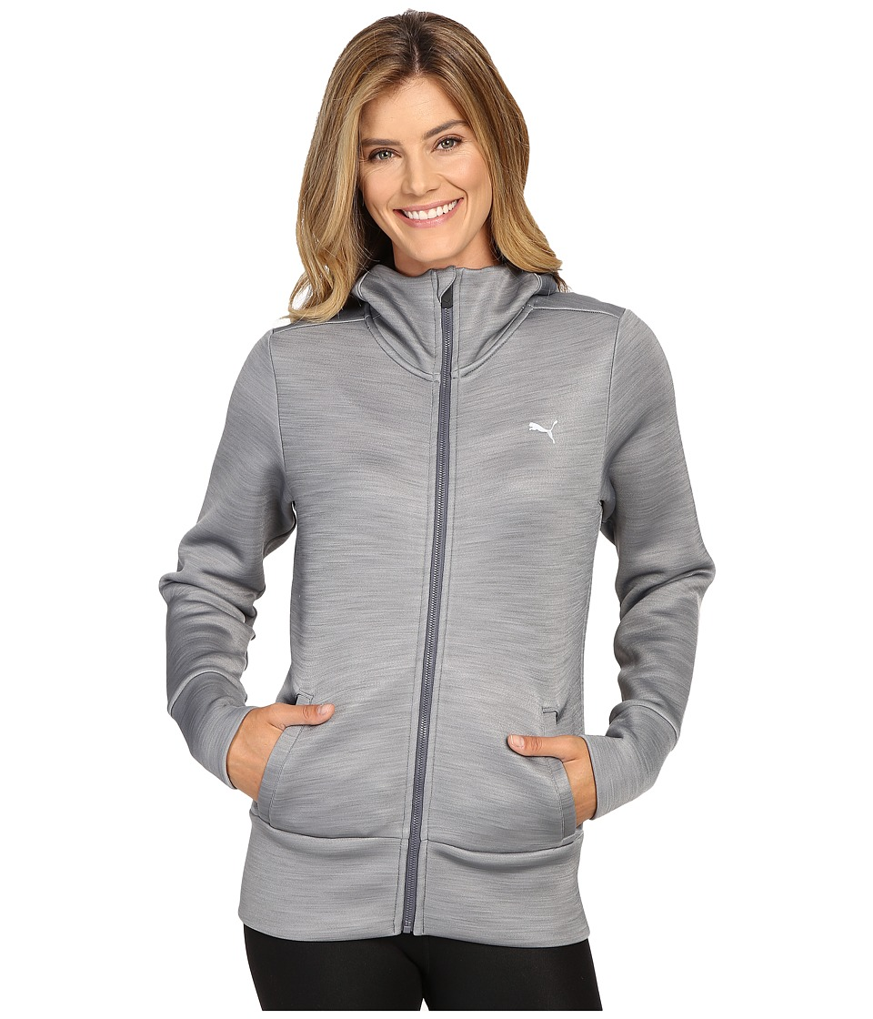 PUMA - Holiday Future Jacket (Medium Gray Heather) Women's Coat