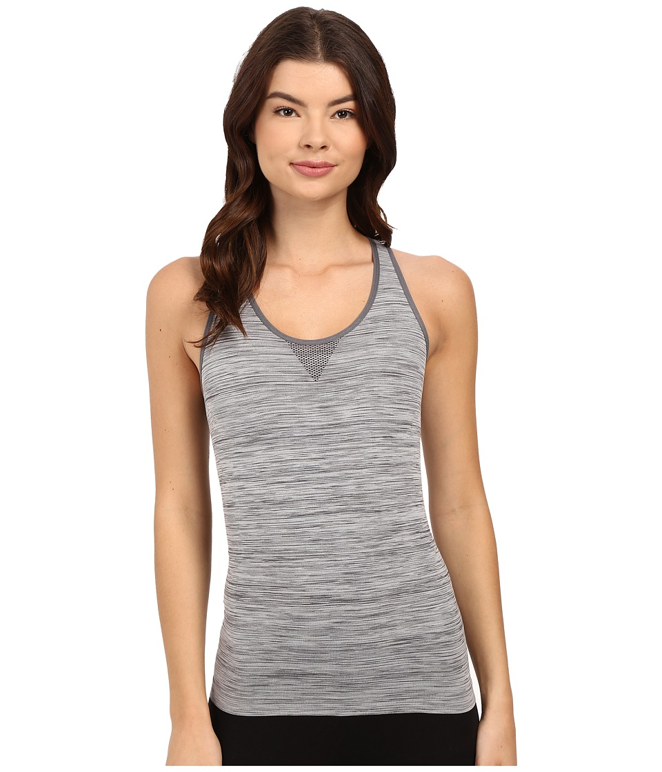 Jockey - Seamfree Sporties Racerback Tank Top (Jet Grey) Women's Underwear