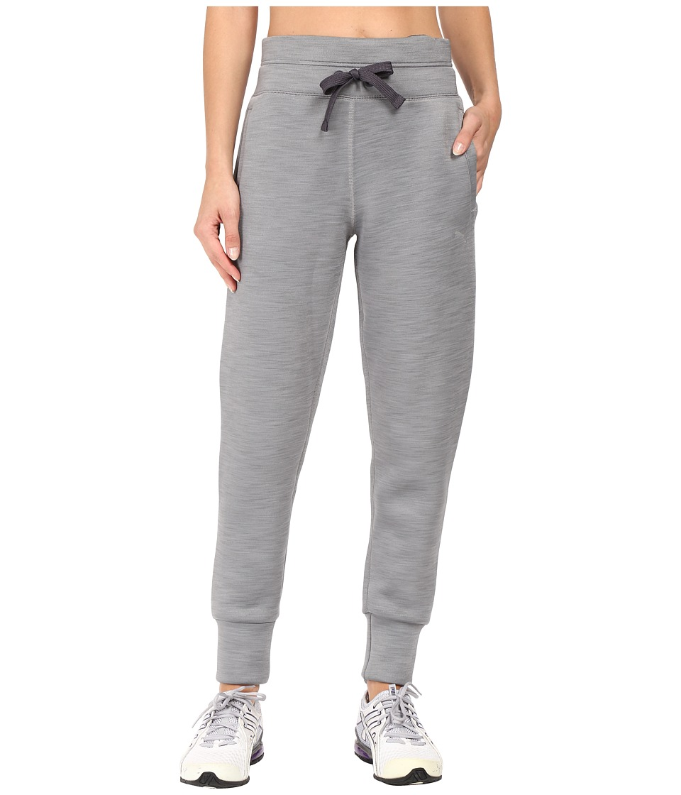 PUMA - Holiday Future Pants (Medium Gray Heather) Women's Casual Pants