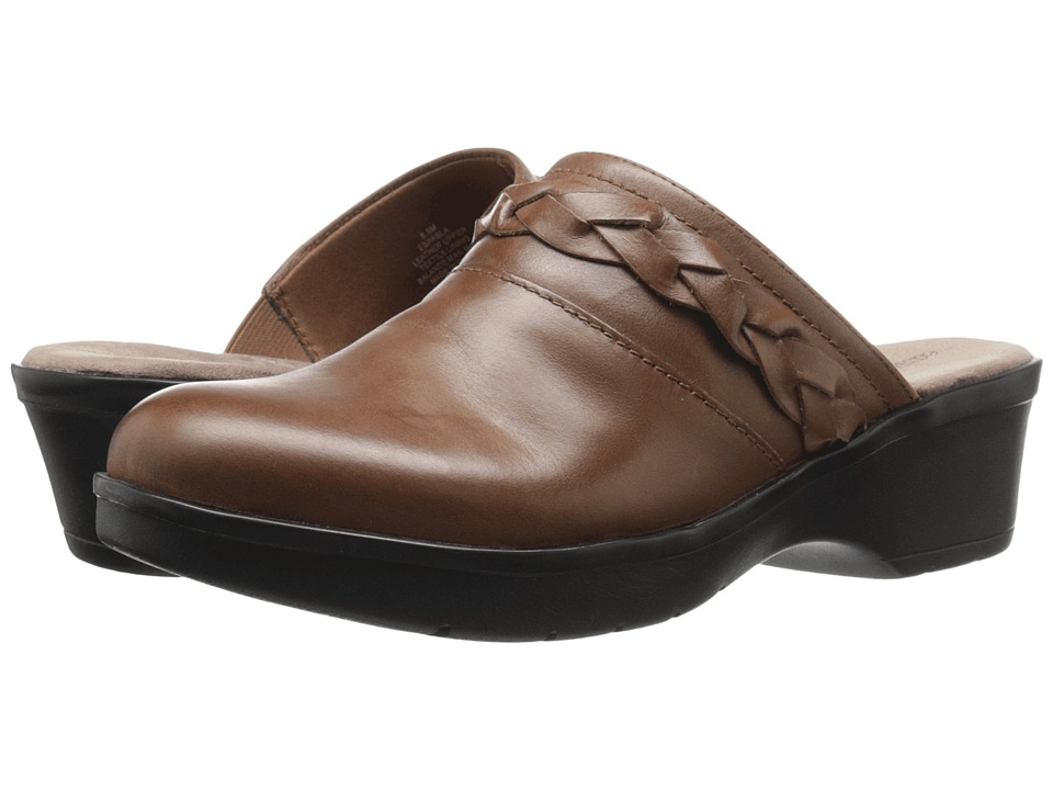 Easy Spirit - Pabla (Dark Natural Leather) Women's Shoes