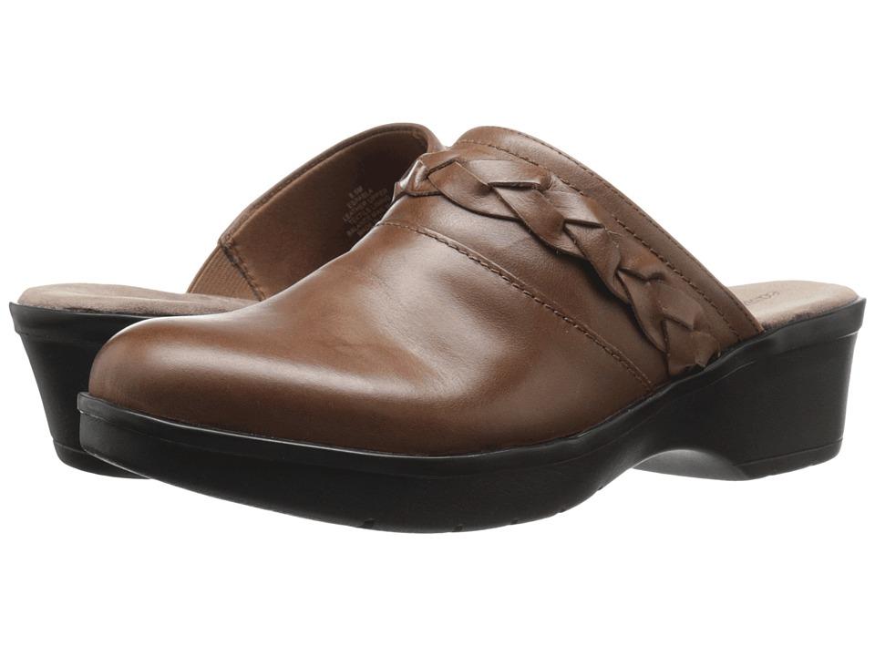 Easy Spirit - Pabla (Dark Natural Leather) Women's Shoes