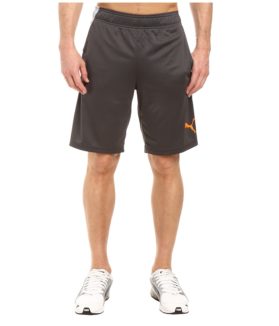 PUMA - Motion Flex Shorts (Asphalt/Quarry) Men's Shorts