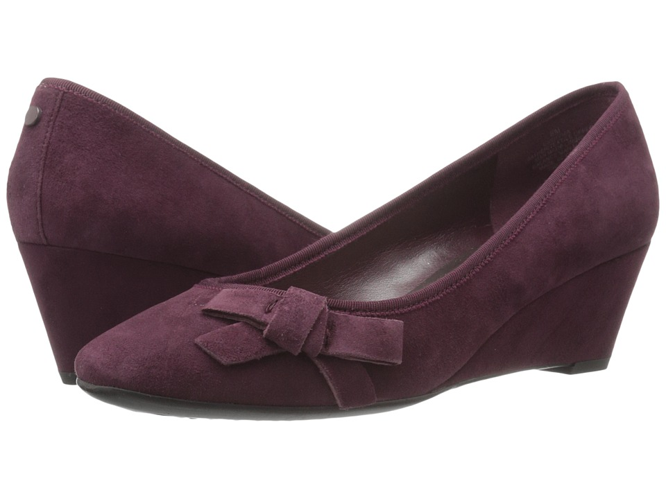 Easy Spirit - Shyma (Wine/Wine Suede) Women's Shoes