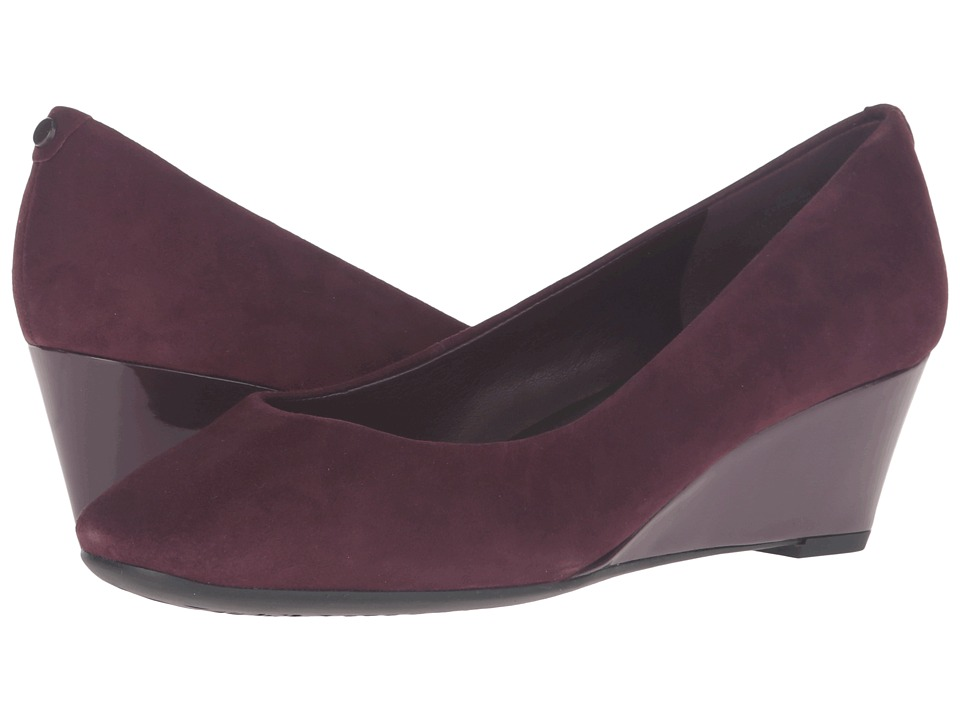 Easy Spirit - Solna (Wine Suede) Women's Shoes
