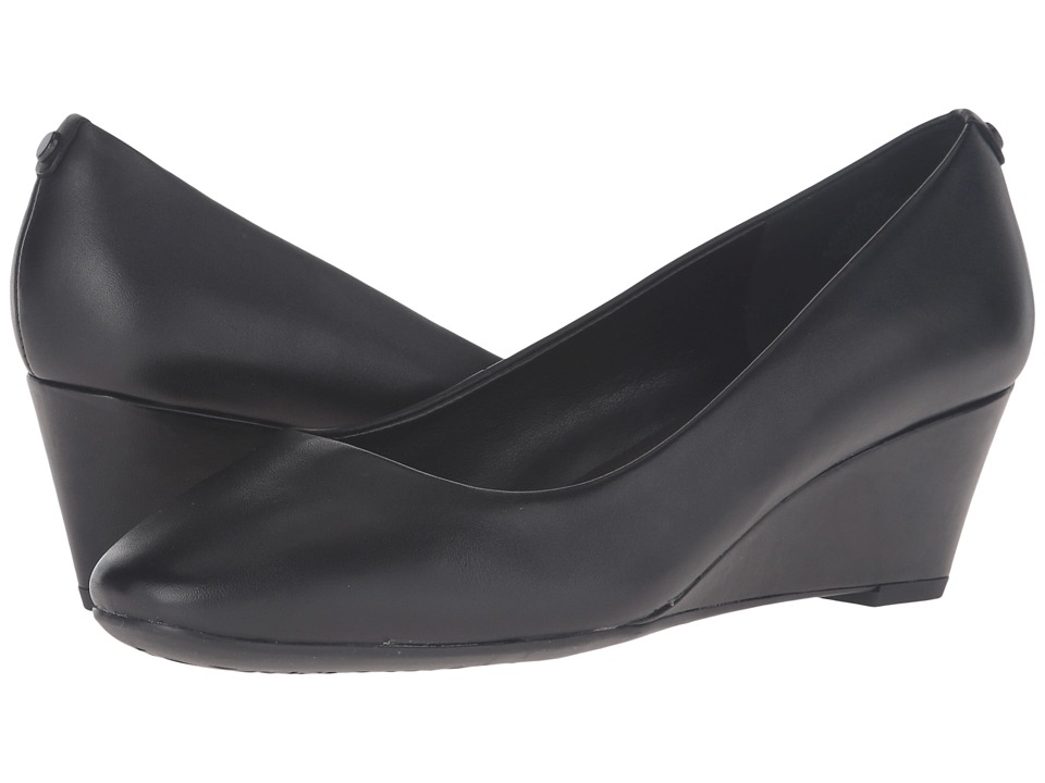Easy Spirit - Solna (Black Leather) Women's Shoes