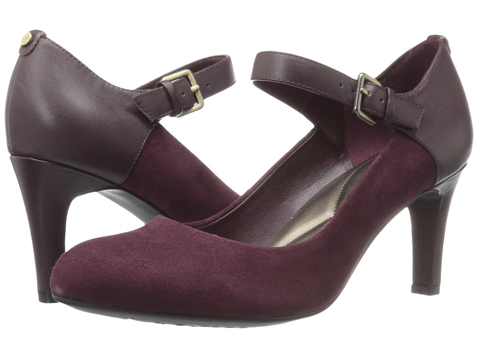 Easy Spirit - Tarni (Wine/Wine Suede) Women's Shoes
