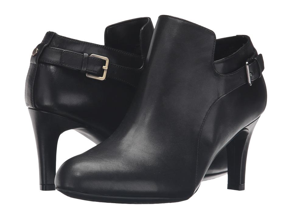 Easy Spirit - Tatiana (Black/Black Leather) Women's Shoes