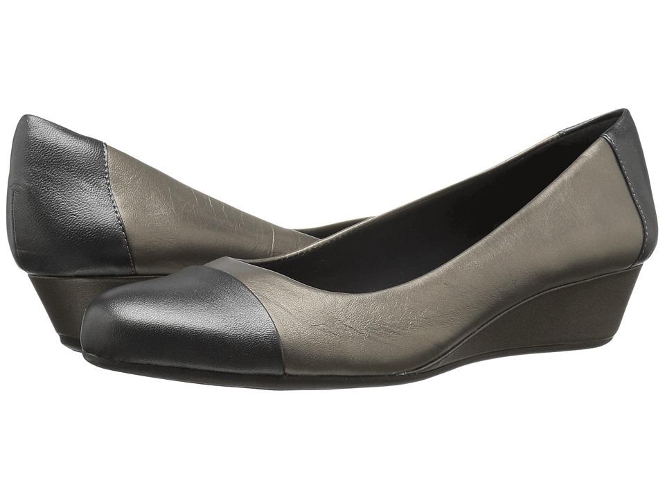 Easy Spirit Daneri (Bronze/Pewter Leather) Women