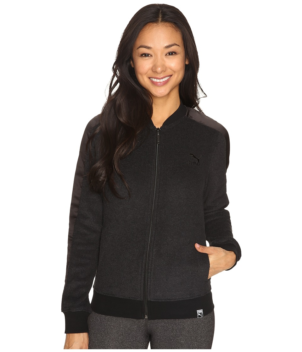 PUMA - Winterized T7 Track Jacket (Black) Women's Coat