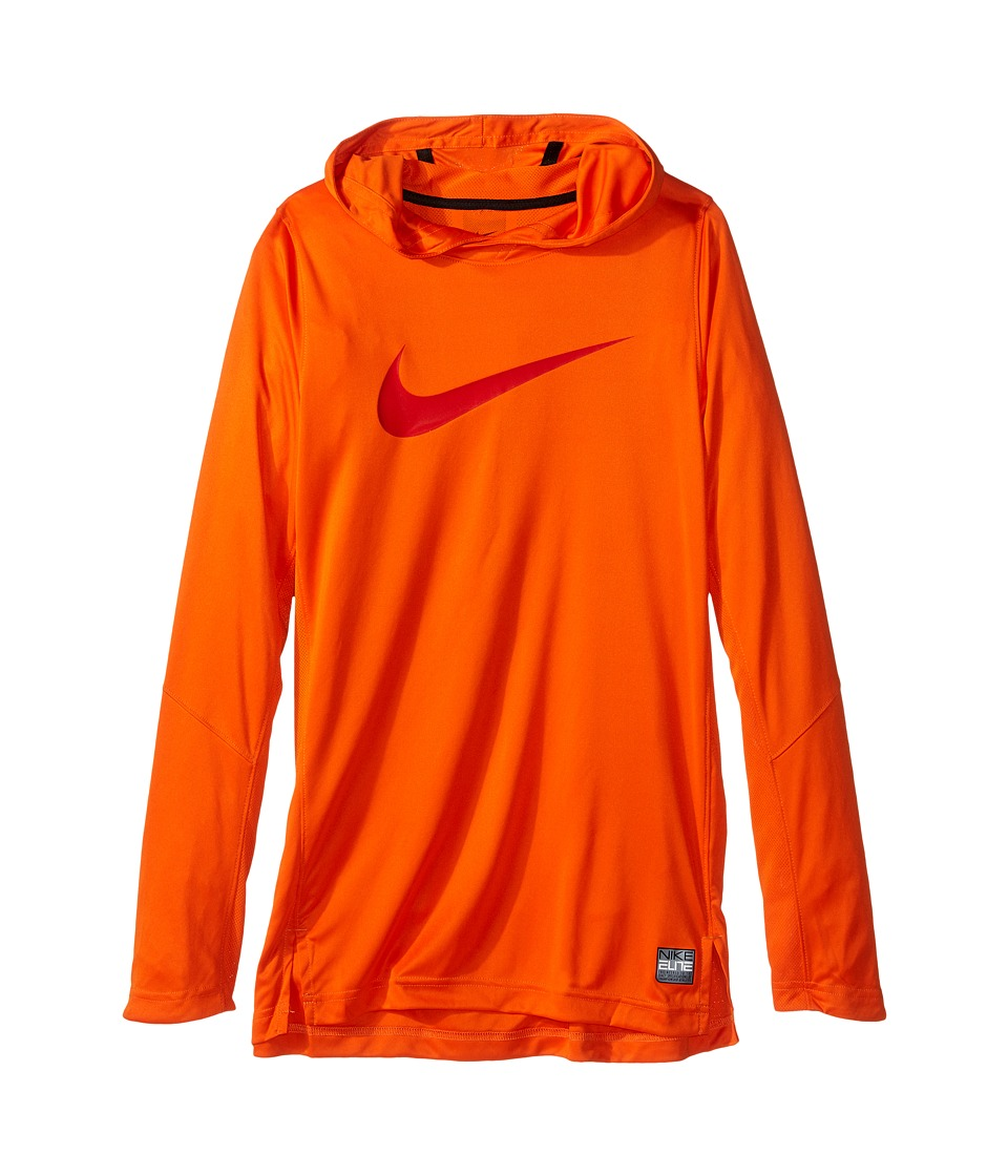 Nike Kids - Dry Elite Shooter Hoodie (Little Kids/Big Kids) (Safety Orange) Boy's Clothing