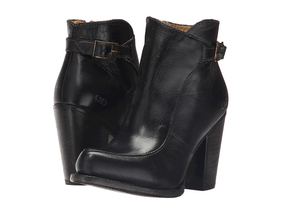 Bed Stu - Isla (Black Rustic Leather) Women's Boots