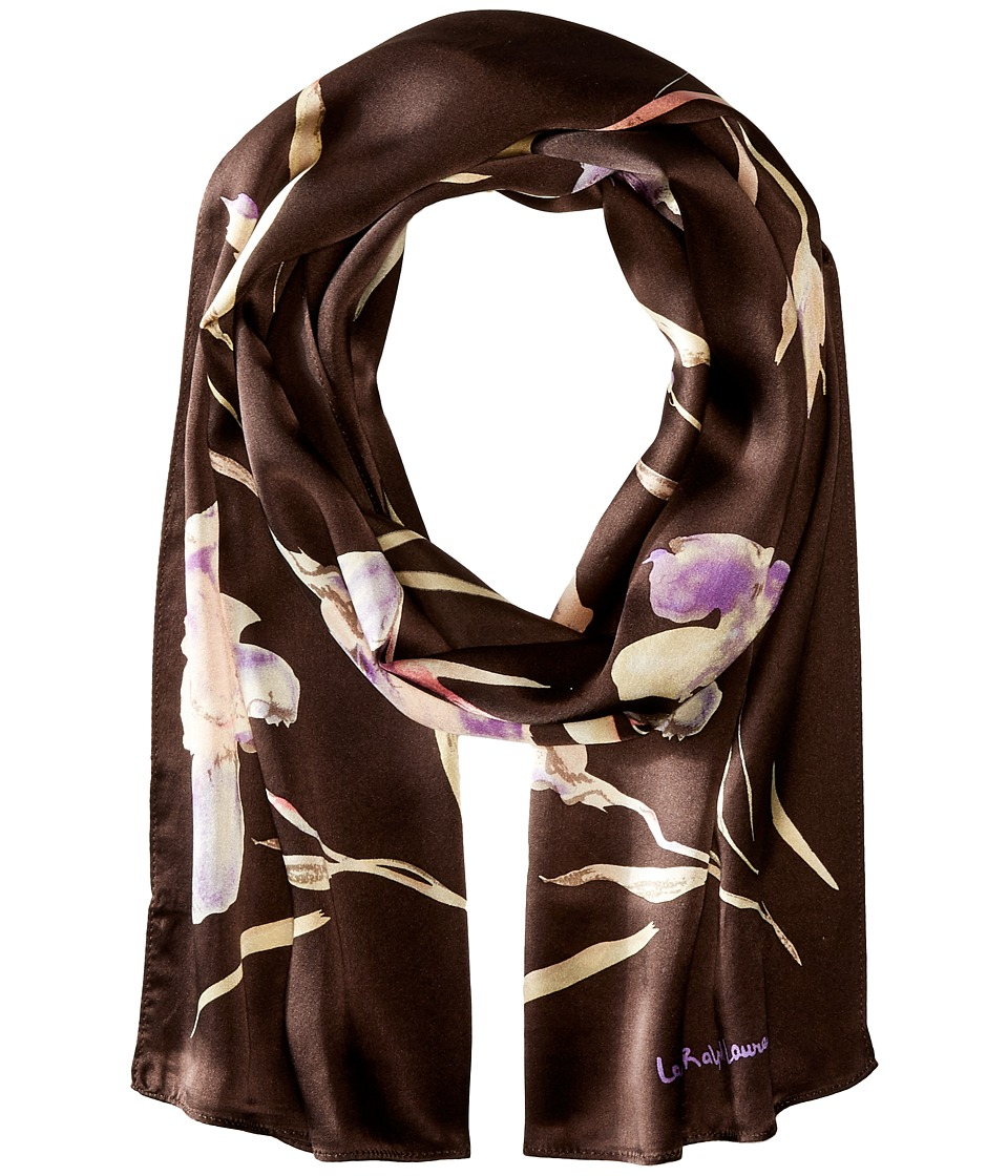 LAUREN Ralph Lauren - Camille (Hillside Brown) Scarves
