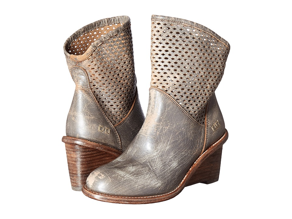 Bed Stu - Dutchess (Smoke Grey Lux Leather) Women's Pull-on Boots