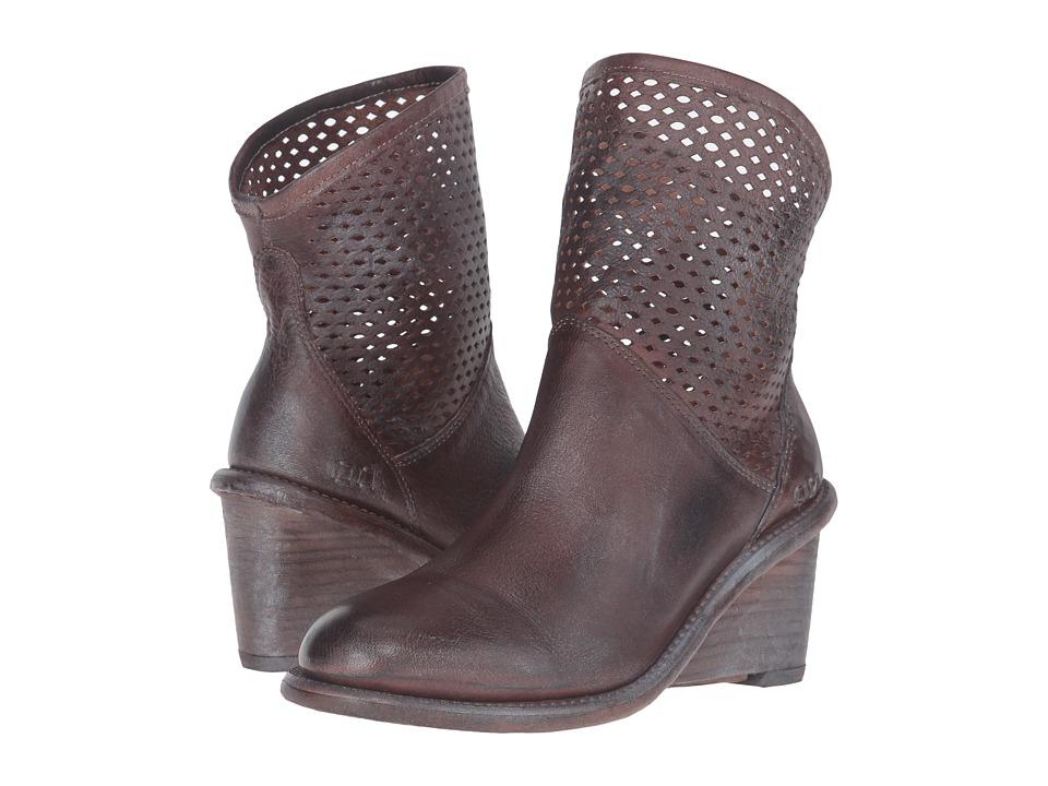 Bed Stu - Dutchess (Teak Rustic Blue Leather) Women's Pull-on Boots
