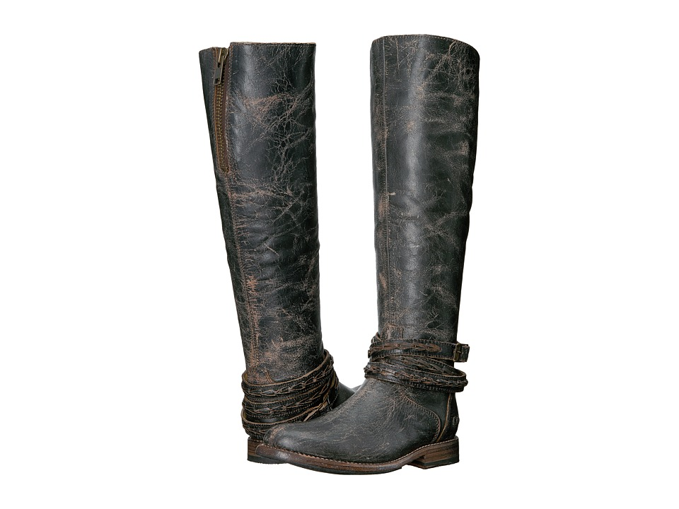 Bed Stu - Eva (Black Lux Leather) Women's Boots