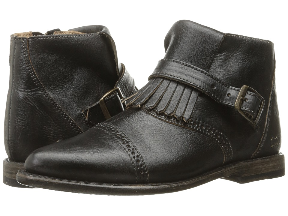 Bed Stu - Dipper (Black Rustic Leather) Women's Boots