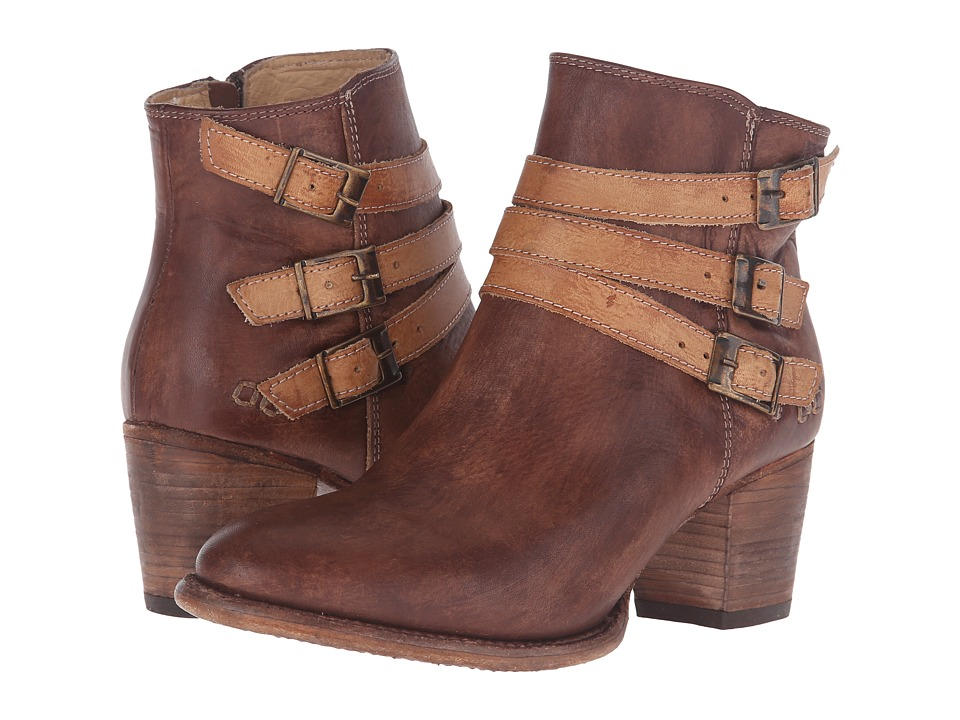 Bed Stu - Begin (Tan Teak Driftwood Leather) Women's Boots