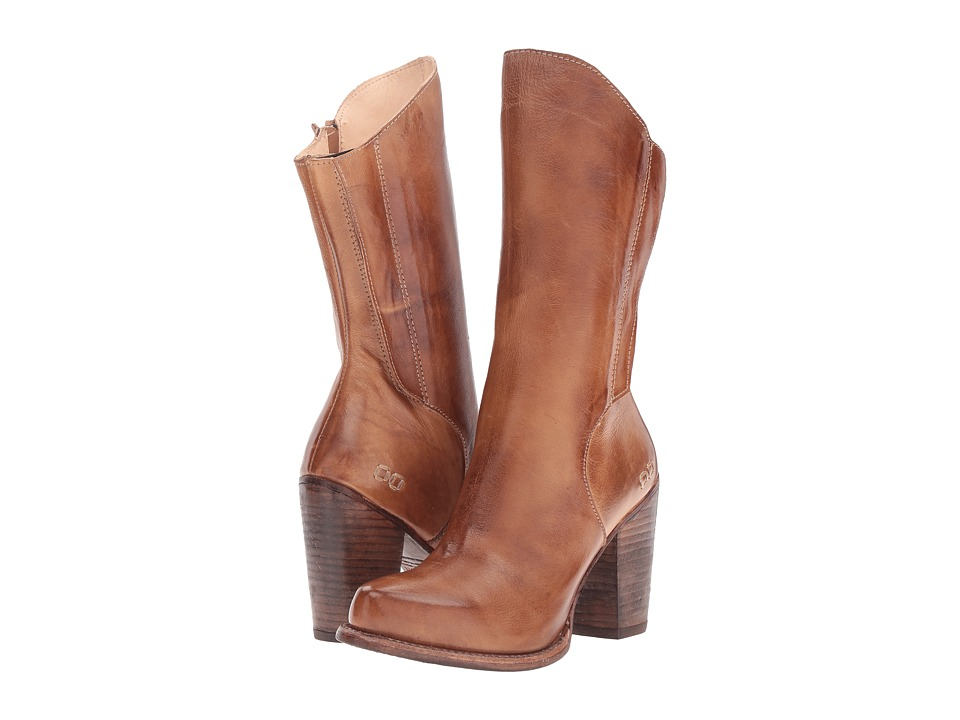 Bed Stu - Embark (Tan Rustic Leather) Women's Pull-on Boots