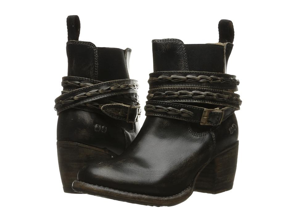 Bed Stu - Lorn (Black Handwash Leather) Women's Pull-on Boots