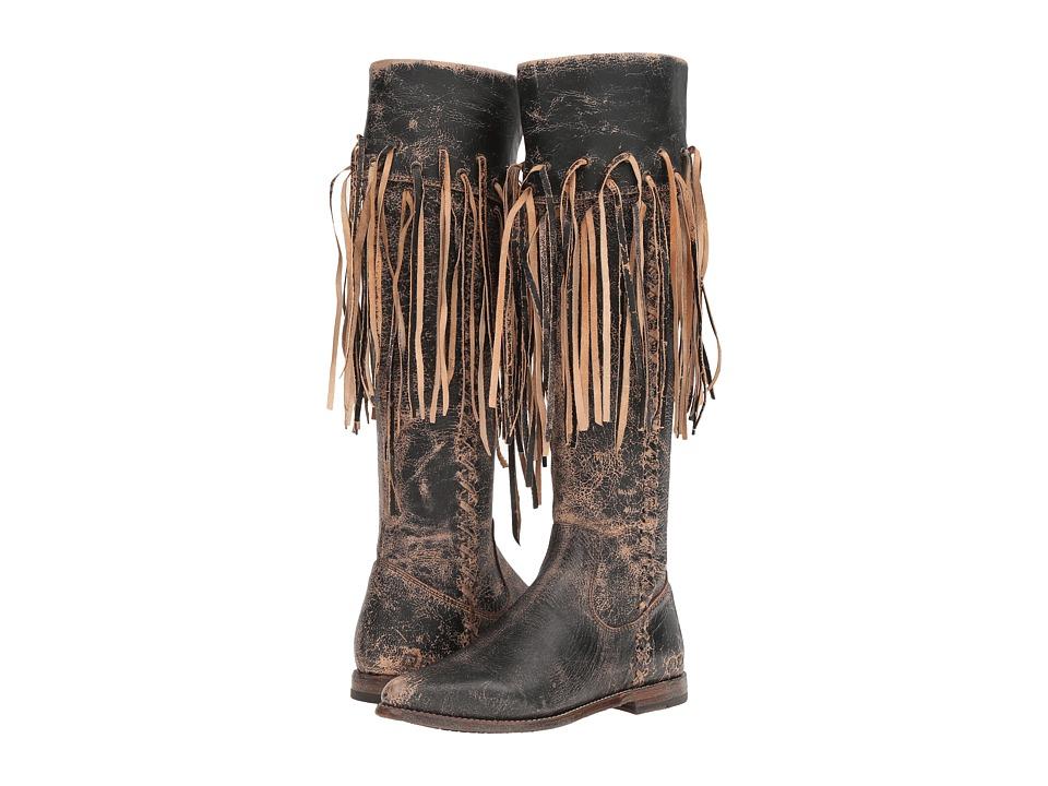 Bed Stu - Hoplia (Black Lux Leather) Women's Boots