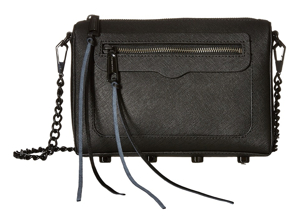 Rebecca Minkoff - Avery Crossbody (Black 1) Cross Body Handbags